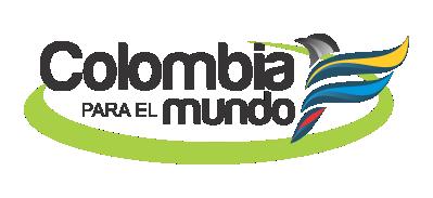 Logo Colombia para el Mundo 400px